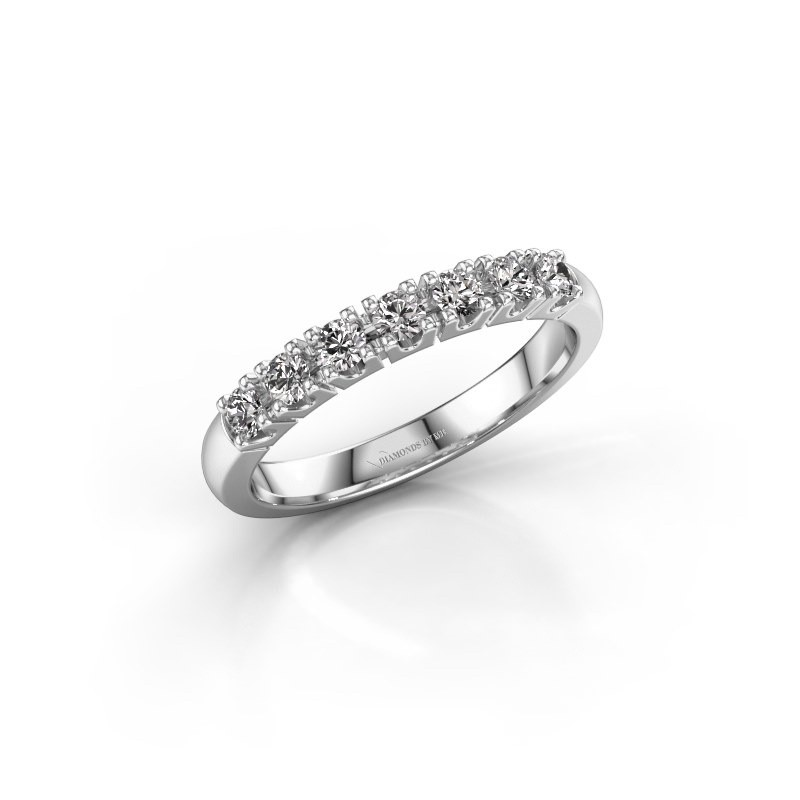 Belofte ring Rianne 7 585 witgoud diamant 0.385 crt
