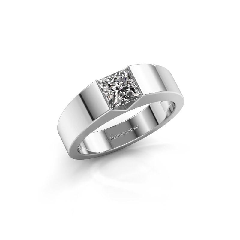 Verlovingsring Arlena 1 585 witgoud diamant 0.40 crt