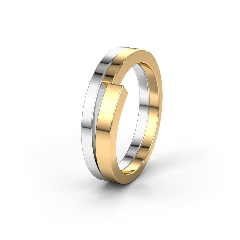 Huwelijksring WMR0037M 585 goud ±6x2.6 mm