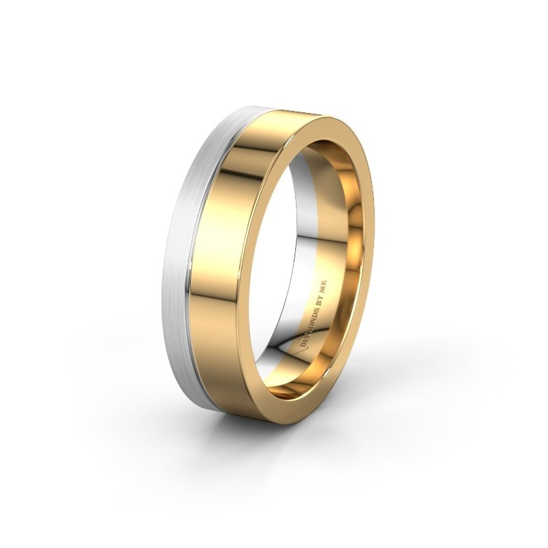 Trouwring WH0329M16B 585 goud ±6x2 mm