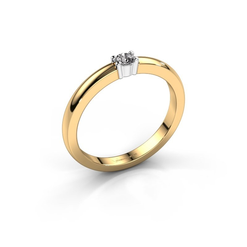 Memoire Gold Verlobungsring Mit Diamant Yasmin 1 Selbst Gestalten