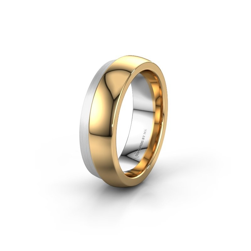 Trouwring WH6004L26C 585 goud ±6x2.2 mm