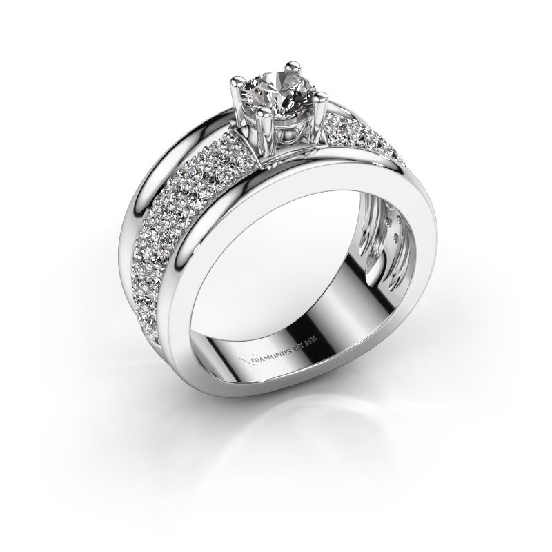 Ring Alicia 585 witgoud diamant 1.31 crt
