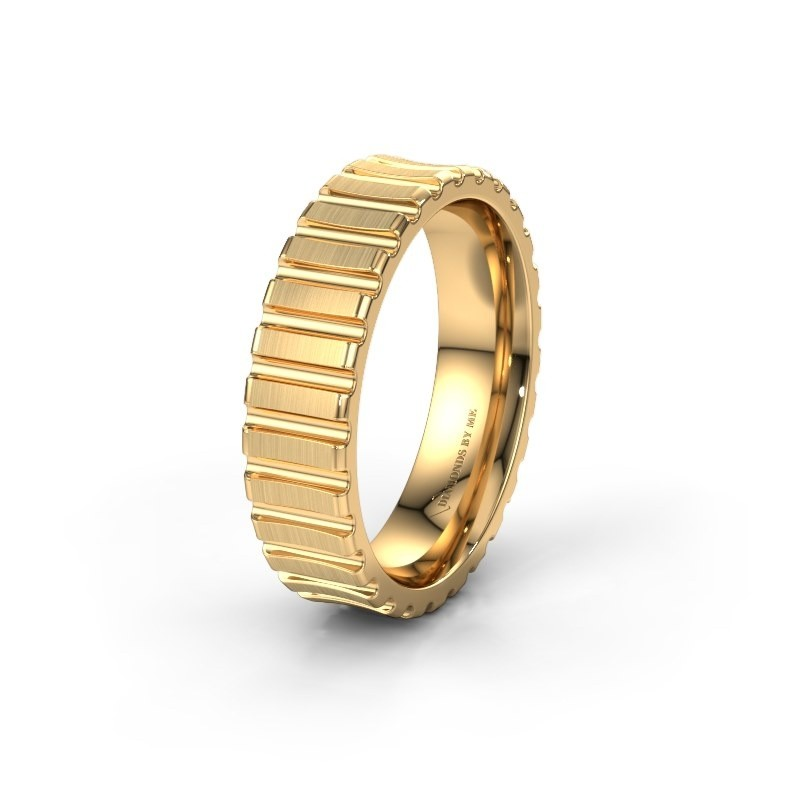 Trouwring WH0131M46B 585 goud ±6x2 mm