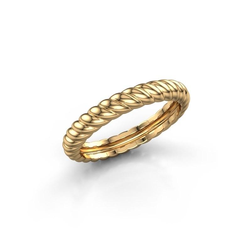 Aanschuifring Caren 585 goud