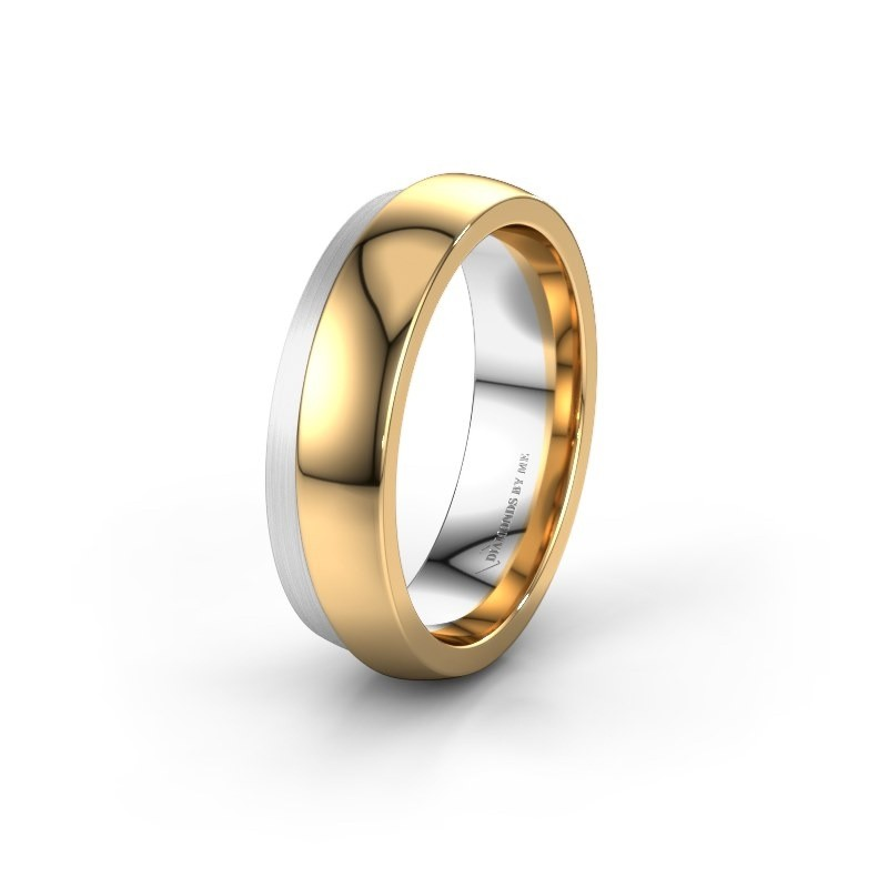 Image Of Wedding Ring Wh6004m26c 585 Gold 6x2 2 Mm