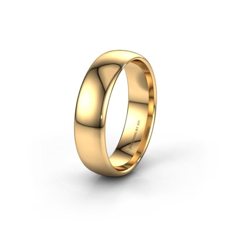 Trouwring WH0100M36AP 585 goud ±6x1.7 mm