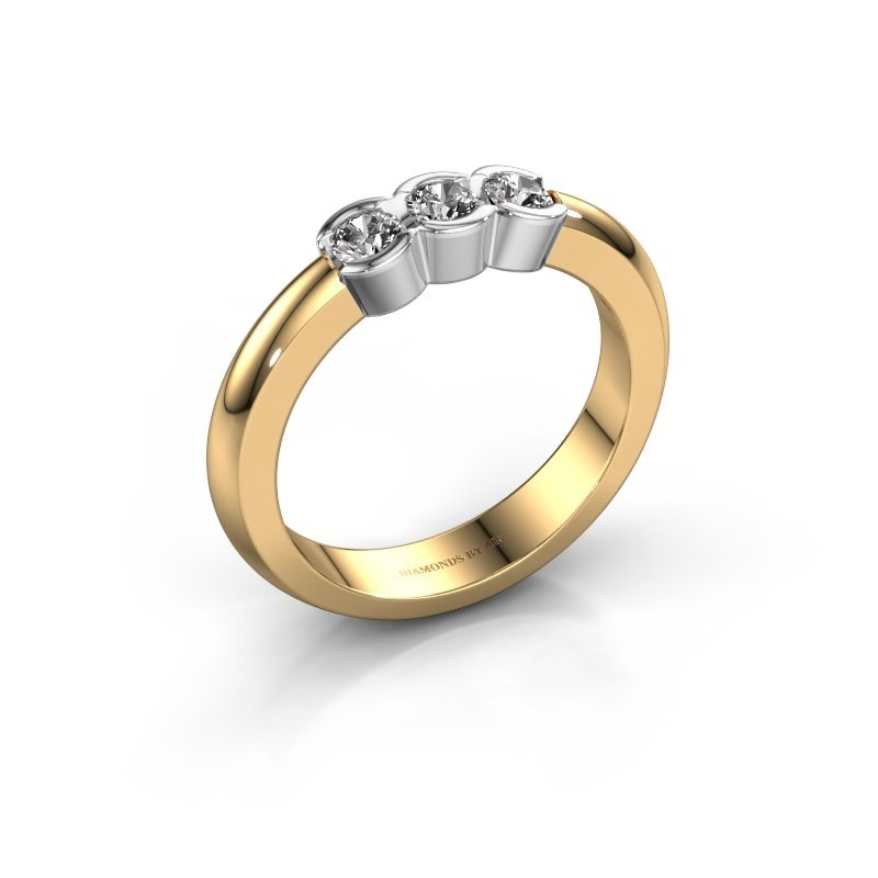 Verlovingsring Lotte 3 585 goud diamant 0.30 crt