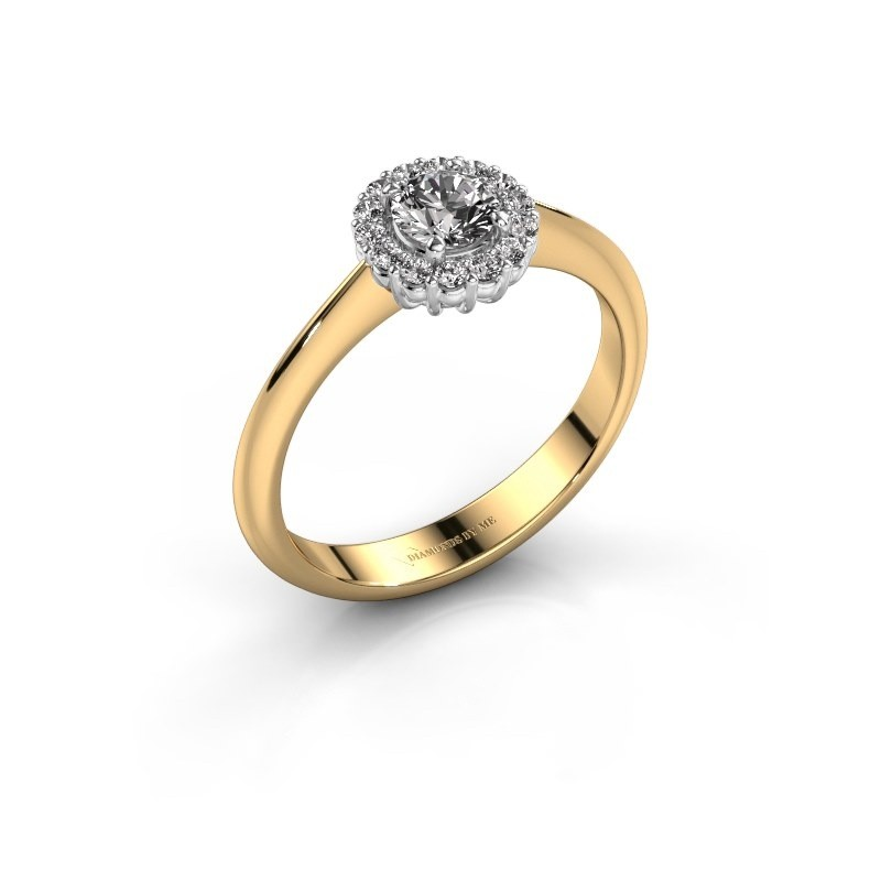 Verlovingsring Anca 585 goud diamant 0.44 crt