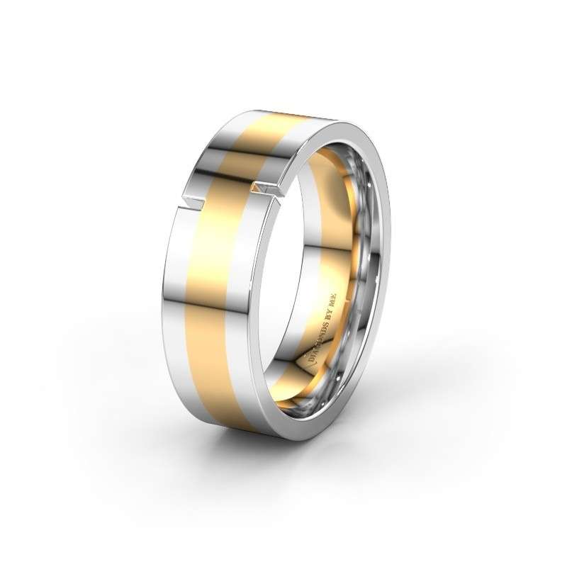 Trouwring WH2042P 585 goud ±7x2.2 mm