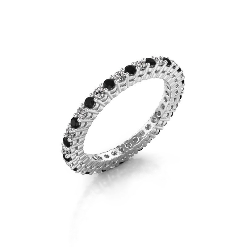 Aanschuifring Rufina 2 585 witgoud diamant 0.792 crt