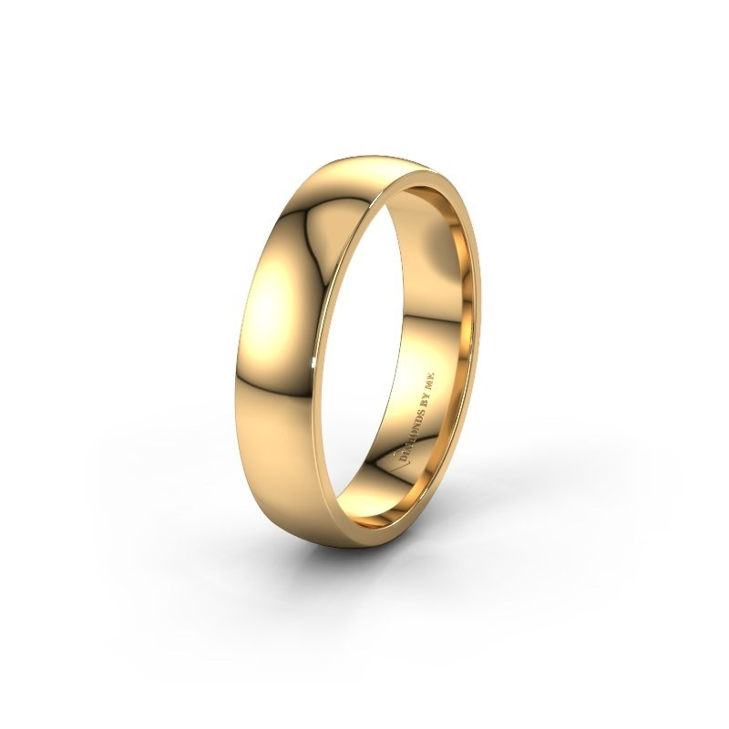 Wedding ring WH0100M25AP 585 gold ±5x1.7 mm