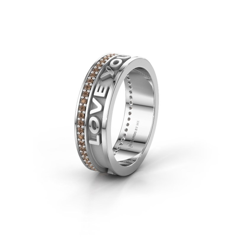 Wedding ring namering 2 950 platinum ±6x2 mm