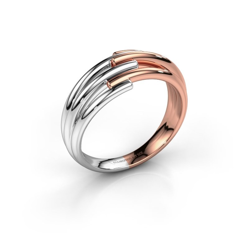 Ring Renske 585 witgoud