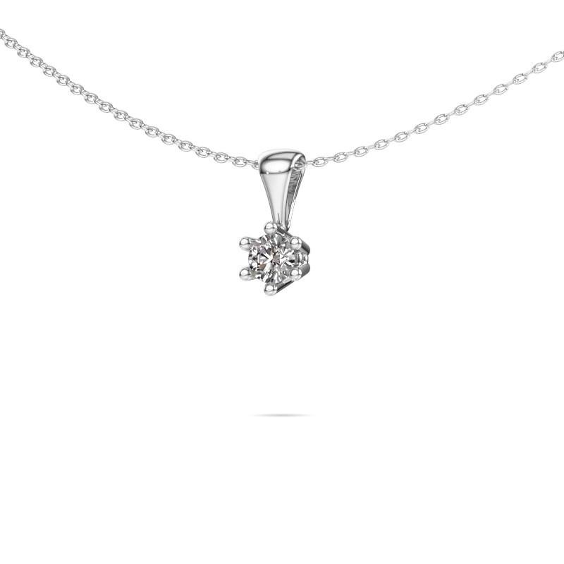 Ketting Fay 585 witgoud diamant 0.25 crt