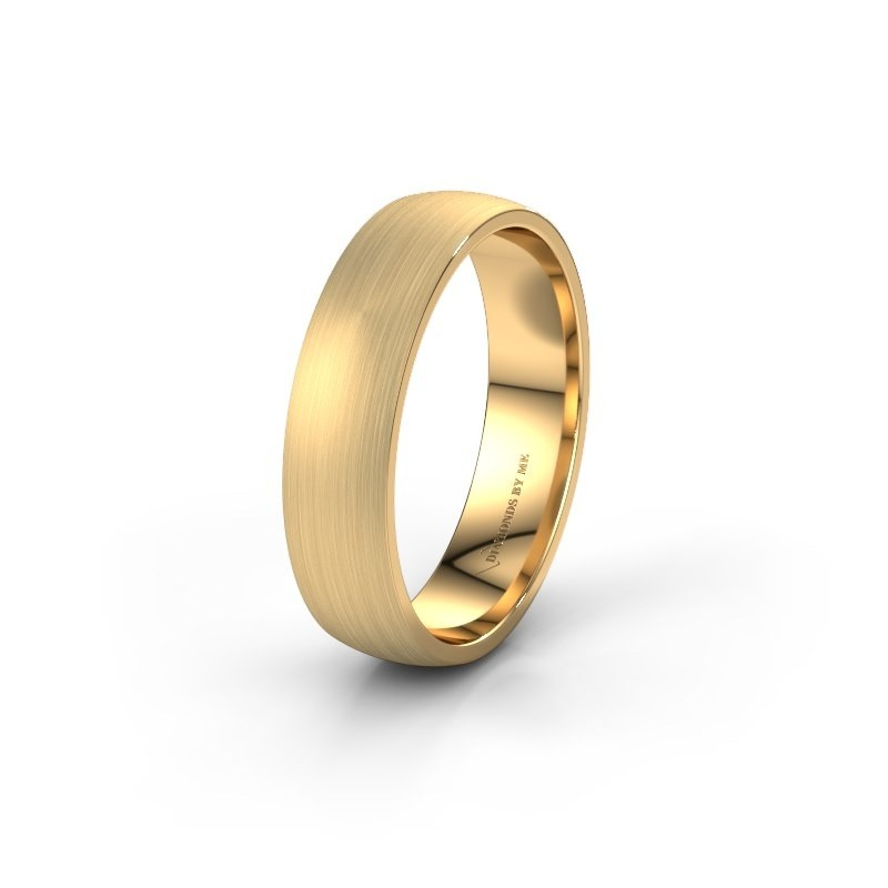Trouwring WH0154M25XM 375 goud ±5x1.5 mm