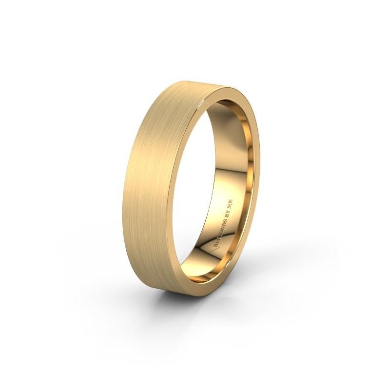 Trouwring WH0100M15XM 585 goud ±5x1.5 mm