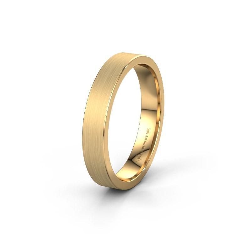 Trouwring WH0100M14XM 585 goud ±4x1.4 mm
