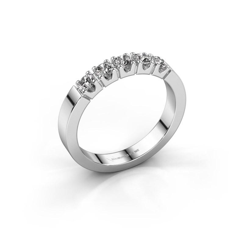 Verlovingsring Dana 5 585 witgoud diamant 0.50 crt