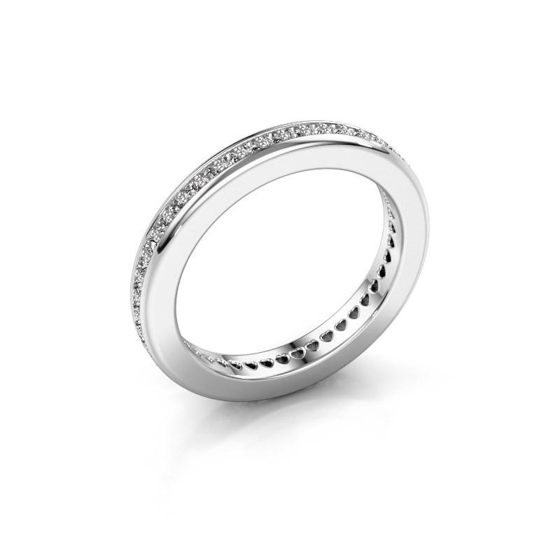 Aanschuifring Elvire 3 585 witgoud diamant 0.48 crt