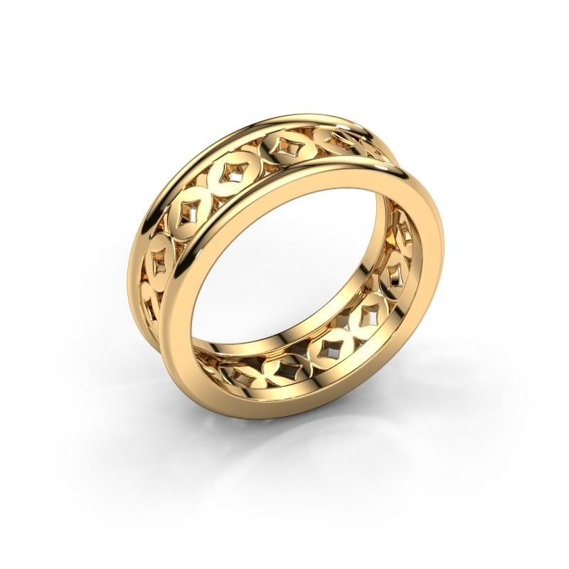 Ring Aya 585 goud