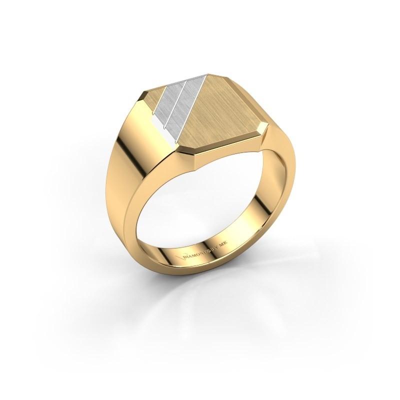 Zegel ring Jack 1 585 goud