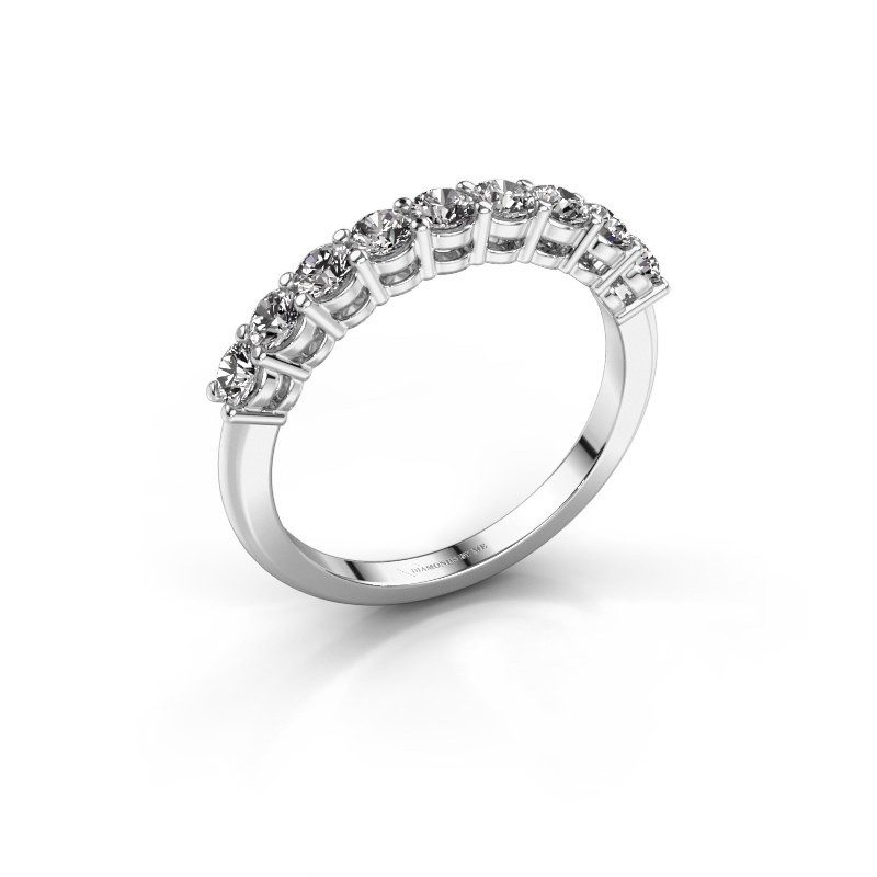 Belofte ring Michelle 9 585 witgoud diamant 0.72 crt