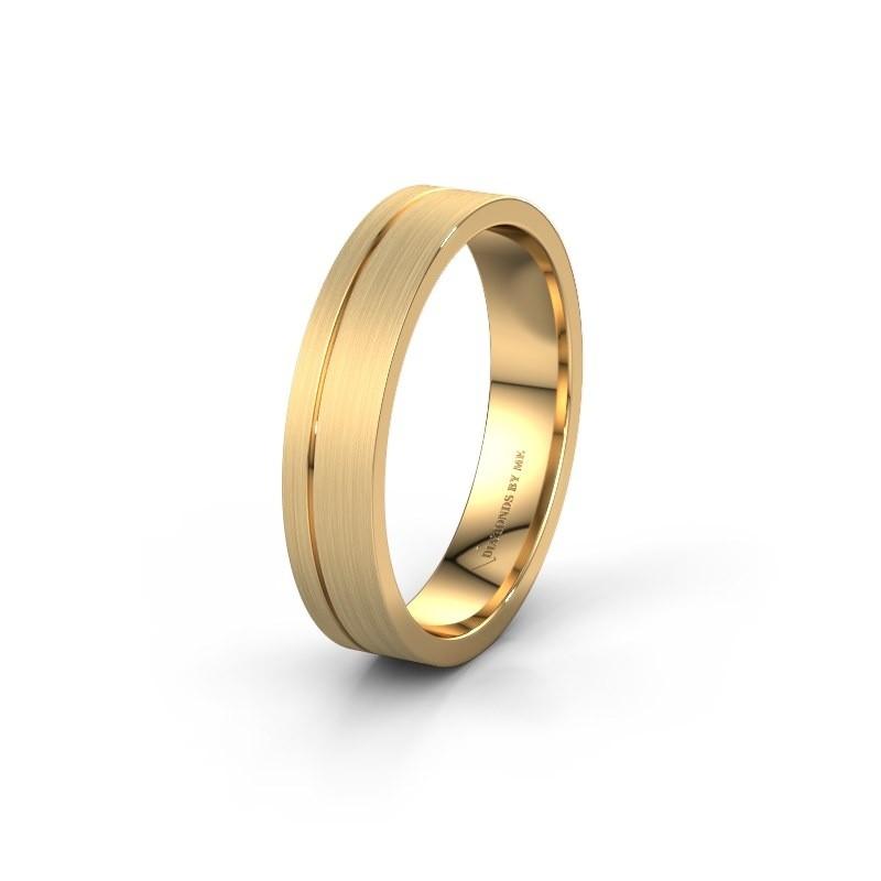 Trouwring WH0156M14X 585 goud ±4x1.5 mm
