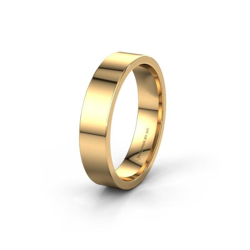 Trouwring WH0100M15AP 585 goud ±5x1.7 mm
