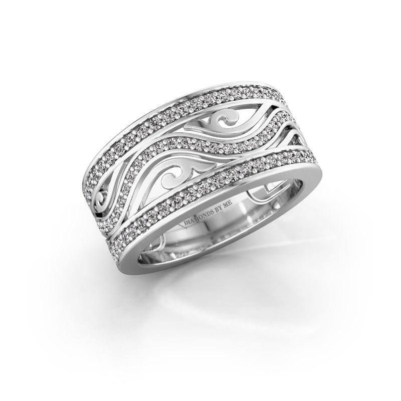 Ring Louvenia 585 witgoud diamant 0.72 crt