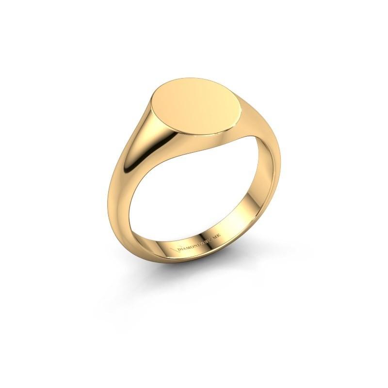 Pink ring Finn 1 585 goud