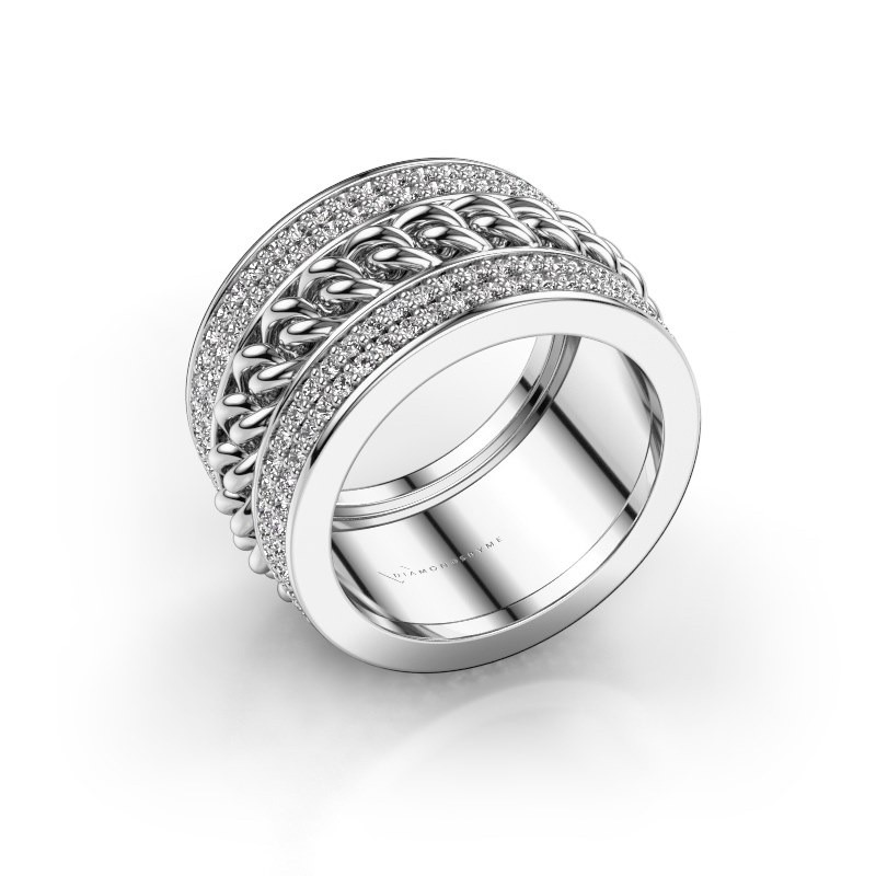Ring Jayda 585 witgoud diamant 1.50 crt