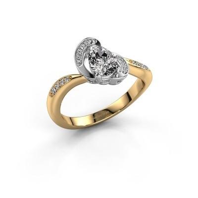 Foto van Ring Jonelle 585 goud diamant 0.748 crt
