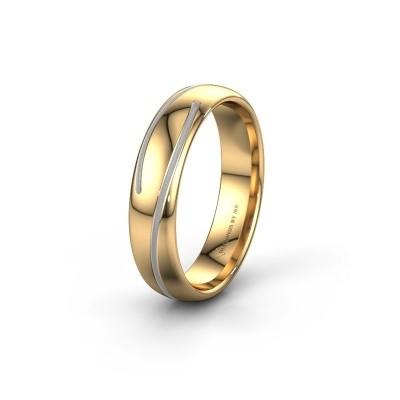 Trouwring WH0152M25A 585 goud ±5x1.7 mm