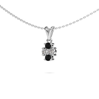 Picture of Necklace Richelle 950 platinum black diamond 0.44 crt