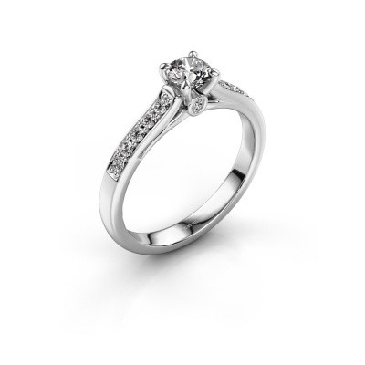 Foto van Verlovingsring Valorie 2 585 witgoud diamant 0.64 crt