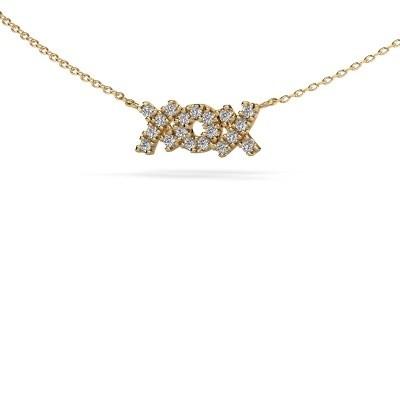 Bild von Kette XoX 585 Gold Diamant 0.285 crt