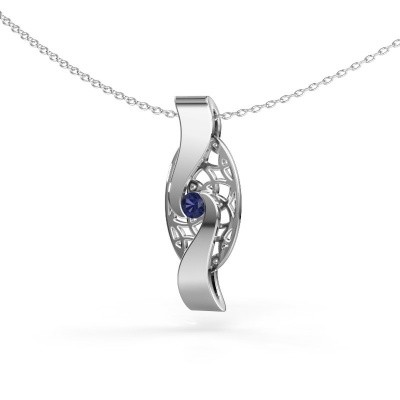 Picture of Pendant Darleen 585 white gold sapphire 3 mm