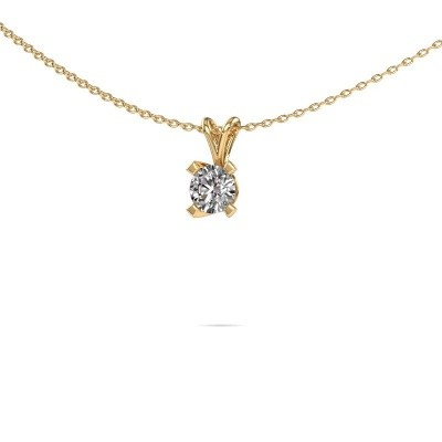 Foto van Hanger Eva 585 goud diamant 0.50 crt
