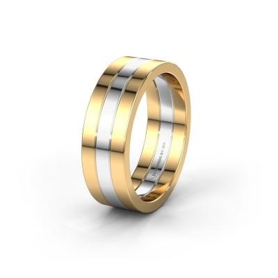 Trouwring WH2120M 585 goud ±7x1.7 mm