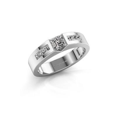 Foto van Verlovings ring Arlena 2 585 witgoud diamant 0.70 crt