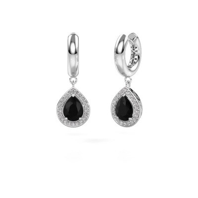 Picture of Drop earrings Barbar 1 585 white gold black diamond 2.445 crt
