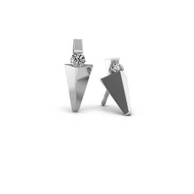 Bild von Ohrringe Corina 950 Platin Diamant 0.20 crt
