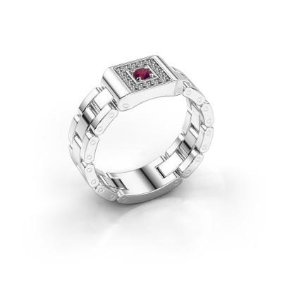 Foto van Rolex stijl ring Giel 950 platina rhodoliet 2.7 mm