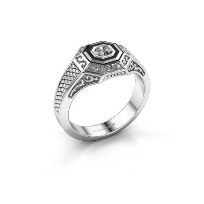 Foto van Heren ring Dion 925 zilver diamant 0.25 crt