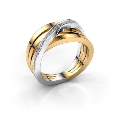Foto van Ring Esmee 585 goud diamant 0.145 crt