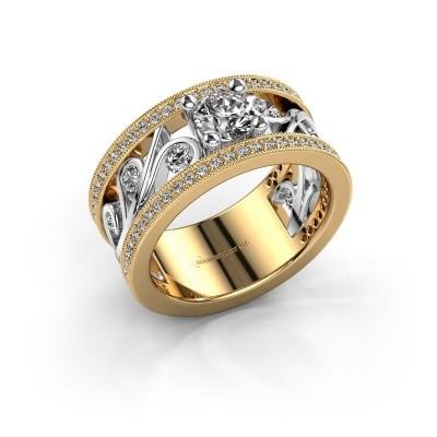 Foto van Ring Sanne 585 goud diamant 1.30 crt