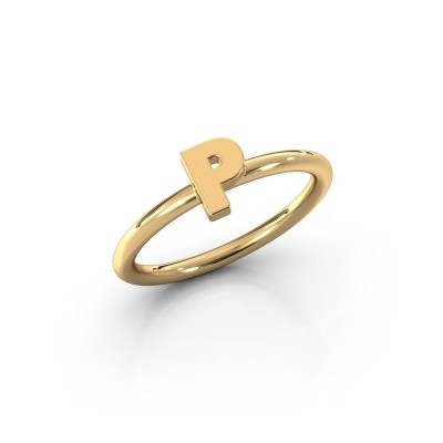 Foto van Ring Initial ring 080 585 goud
