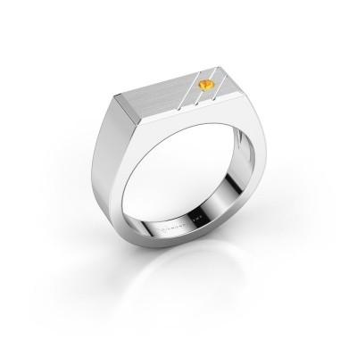 Foto van Heren ring Dree 5 925 zilver citrien 2.4 mm
