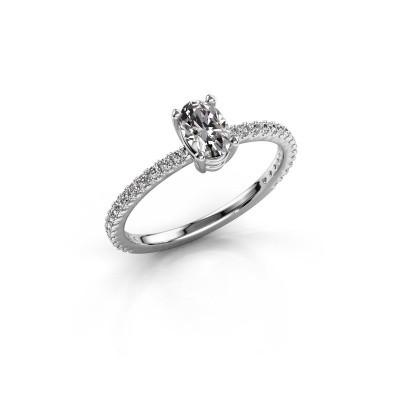 Verlovingsring Lynelle 2 585 witgoud diamant 0.725 crt